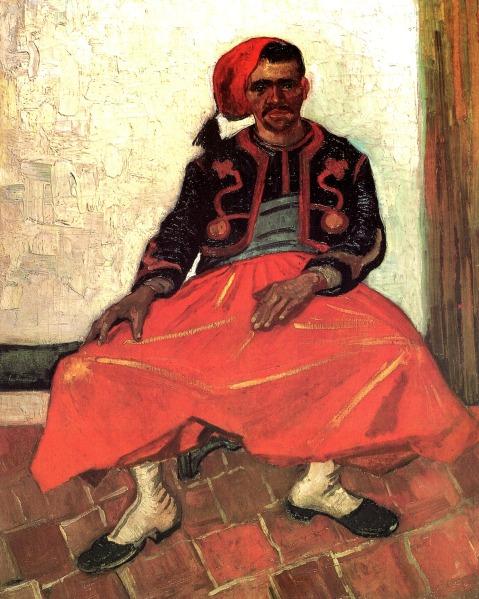 zouave-1888-1(1) vincent van gogh