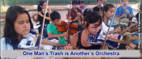 Orchestra of Recycled Instruments. Paraguay