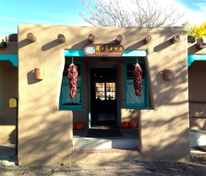 The Kakawa Chocolate House in Santa FE, where I totally fell in love with hot and spicy chocolate!